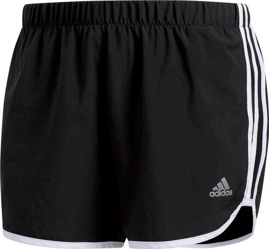 adidas Marathon 20  Sportbroek - Maat L  - Vrouwen - zwart/wit