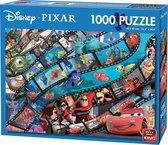 Disney Puzzel 1000 Stukjes - Pixar Movie Magic - Legpuzzel (68 x 49 cm)
