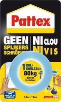 Pattex Montage Tape - 1,5 m x 19 mm - Blauw