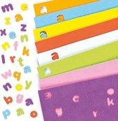 Zelfklevende foam kleine letters  (1100 stuks per verpakking)