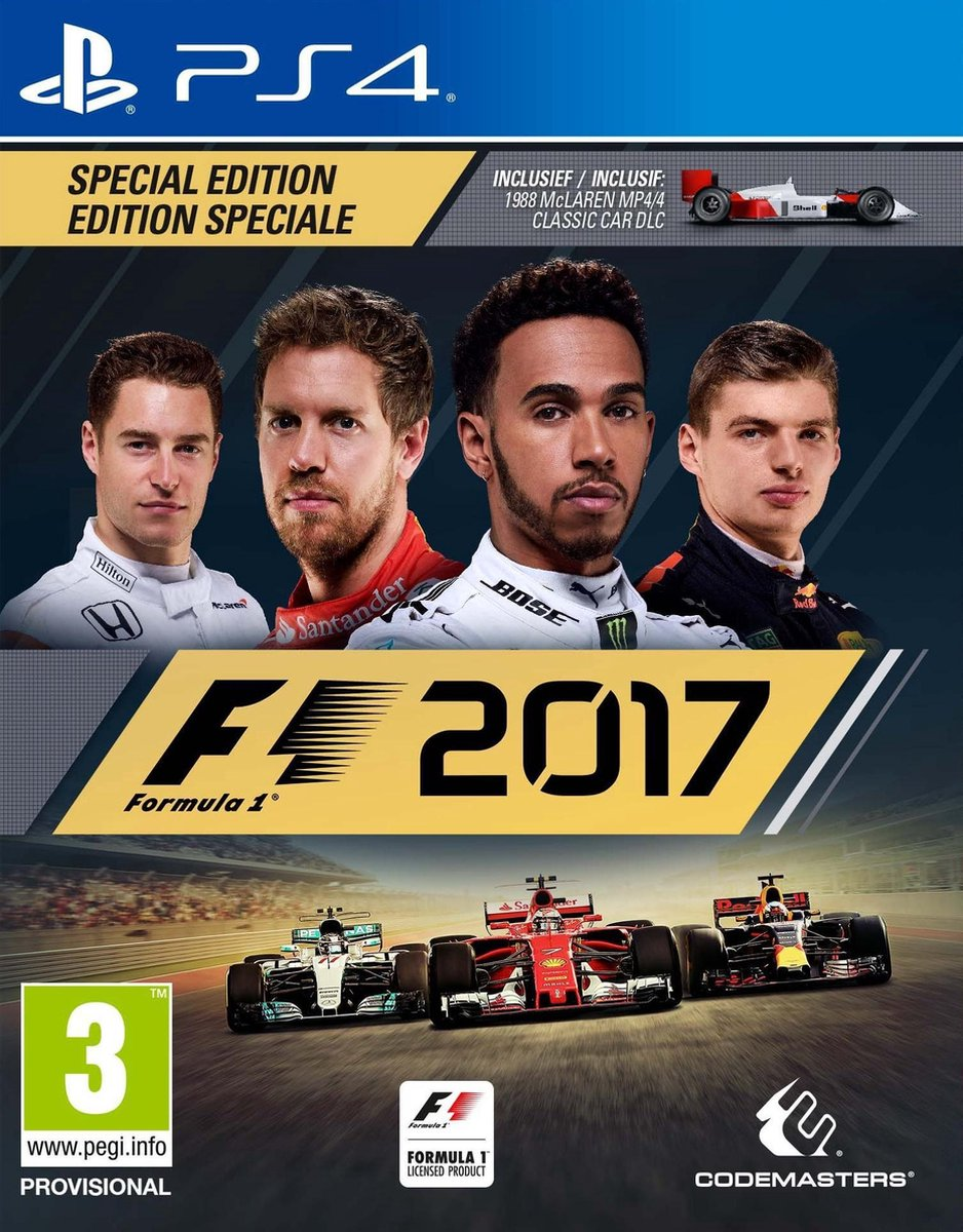 F1 2017 - Special Edition - PS4 - Codemasters