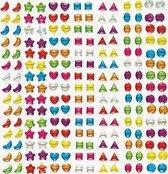Zelfklevende kristallen stenen stickers - knutselspullen voor kinderen - scrapbooking verfraaiing om te maken en versieren kaarten decoraties en knutselwerkjes (280 stuks)