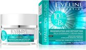 Eveline Cosmetics Hyaluron Clinic Regenerating & Detoxifying Rich Overnight Cream Mask Night 50ml.