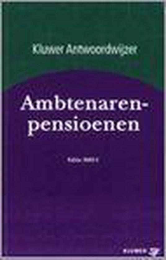 ANTWOORDWIJZER AMBTENARENPENSIOENEN 2002 - none |