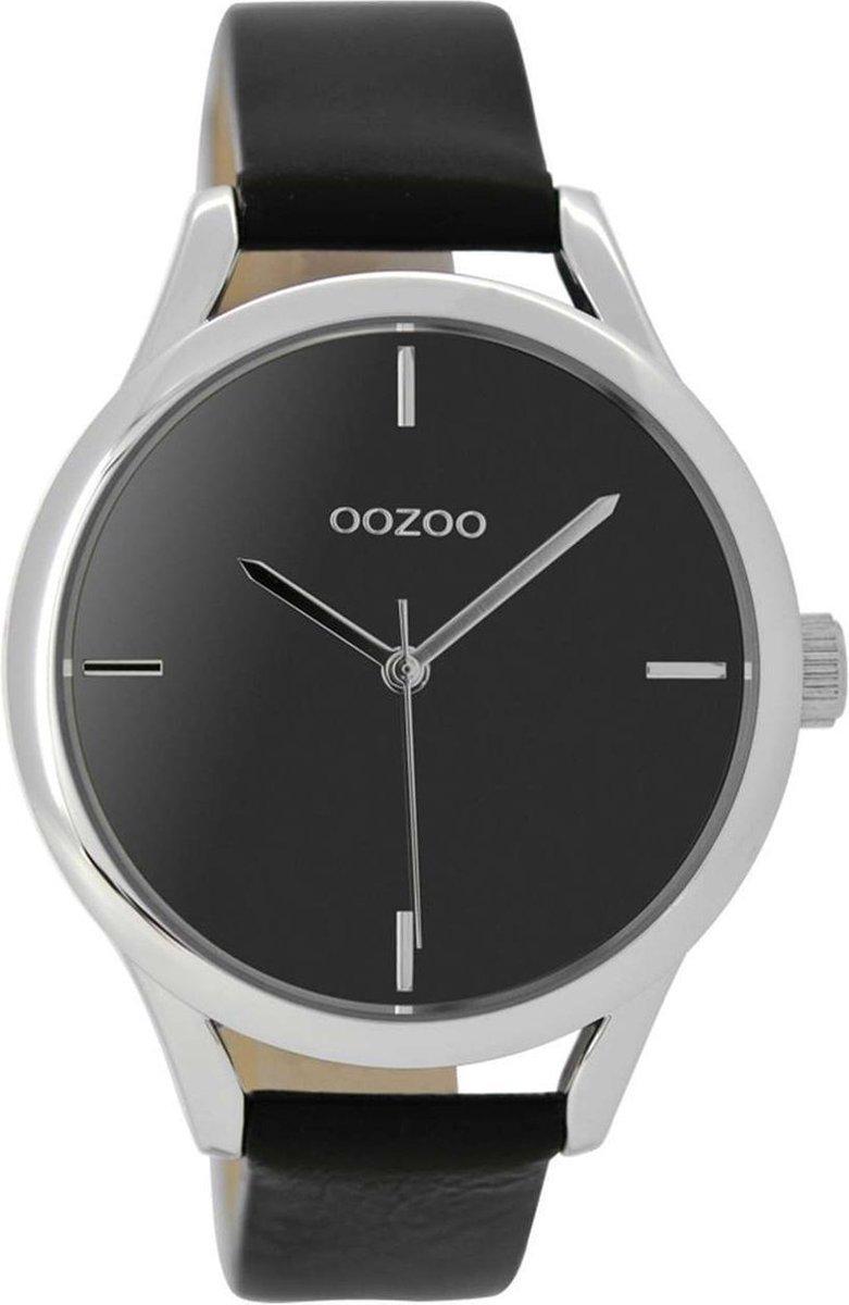 OOZOO Timepieces Zwart horloge C9144 (40 mm) - OOZOO