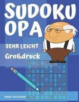 Sudoku Opa - Sehr Leicht - gro druck