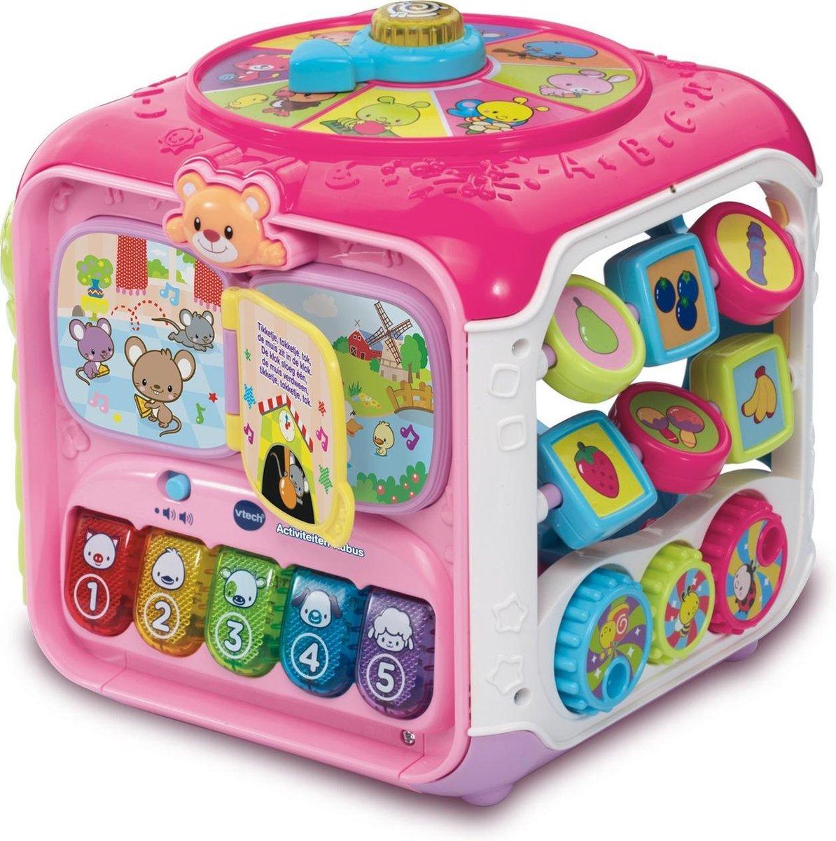 VTech Baby Activiteiten Kubus Roze - Interactieve kubus
