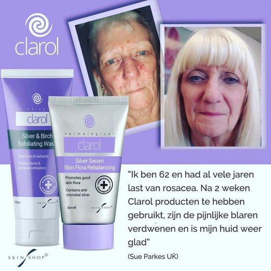 Clarol Silver Serum - Acne crème - Verminderd acne en acne ontstekingen - bevat MicroSilver™ - 50ml