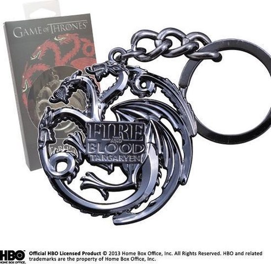 The Noble Collection Game Of Thrones: Targaryen Sigil Key Chain