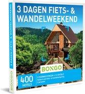 Bongo Bon Nederland - 3 Dagen Fiets- & Wandelweekend Cadeaubon - Cadeaukaart cadeau voor man of vrouw | 400 hotels in een fiets- of wandelomgeving