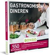 Bongo  Bon België - Gastronomisch Dineren Cadeaubon - Cadeaukaart : 550  klasserestaurants