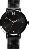 MVMT horloge 28000033-D RVS Zwart 36 mm