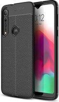 Just in Case Soft TPU hoesje voor Motorola One Macro - Zwart