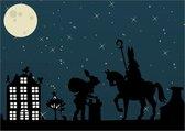 Sinterklaaskaarten - Set van 8 x ansichtkaart - Sinterklaas - S5