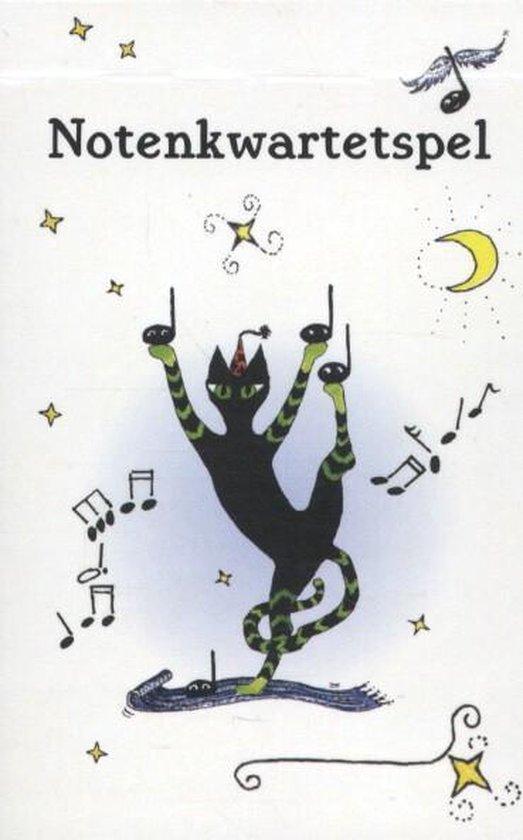 Cover van het boek 'Notenkwartetspel, los'