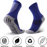 MyStand® Gripsokken Voetbal Unisex - Blauw - One Size