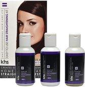 KHS Keratin Home System Smoothing Straight System Kit - 400 ml