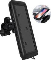 Dyken Telefoonhouder Fiets - Waterdicht - Universeel - GSM Houder Fiets - Smartphone Houder - Zwart