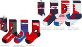 Spiderman  sokken 6 pack - Maat 31 / 34