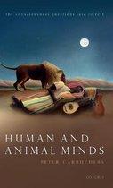 Human and Animal Minds