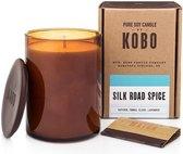 KOBO Geurkaars Woodblock Sil Road Spice 425 g