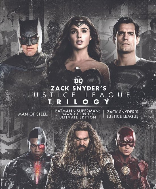 Zack Snyder's Justice League Trilogy  (4K Ultra HD Blu-ray)