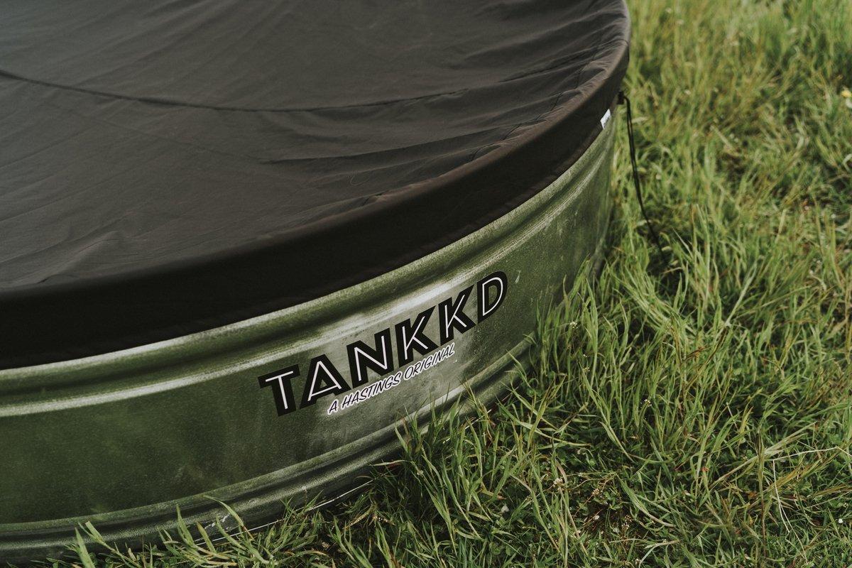 Tankkd stock tank pool cover PU 152 cm ovaal
