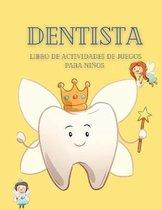 Libro de actividades de juegos de dentista para ninos