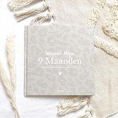 Mijn 9 Maanden invulboek Linnen Leopard