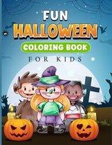 Fun Halloween Coloring Book for Kids