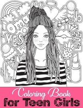Coloring Book for Teen Girls