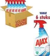 Ajax Spray Shower Power 6 x 750ml - Voordeelverpakking