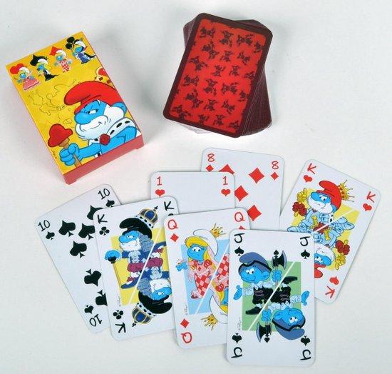 Afbeelding van het spel De Smurfen Speelkaarten | 55 Kaarten
