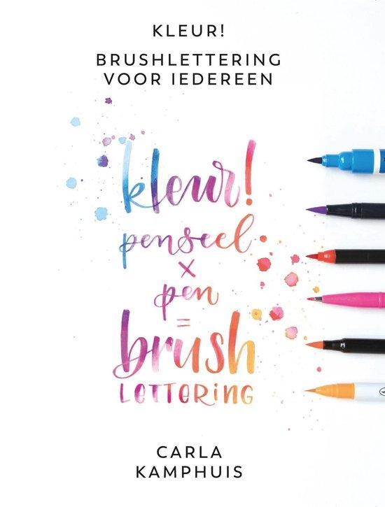 Kosmos Boek - Kleur! Brushlettering voor iedereen Kamphuis, C.