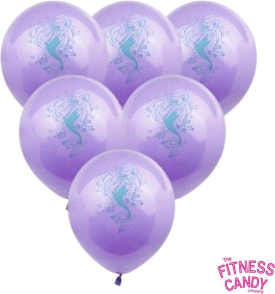 Zeemeermin Ballonnen - Set van 6