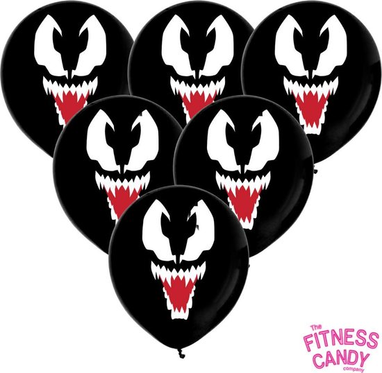 Venom Ballonnen - set van 6