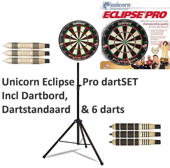 Unicorn Eclipse pro dartSET incl Dartstandaard & 6 darts