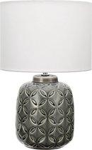 Pauleen Glowing Bloom Tafellamp - E14 - Grijs/Wit