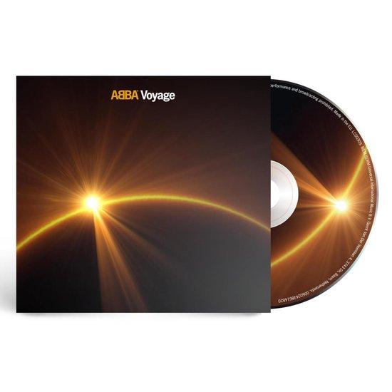 CD cover van Voyage van ABBA