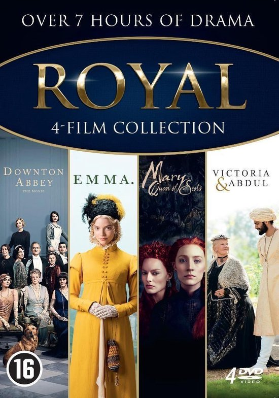 Royal collection: Downton Abbey + Emma + Mary Queen of Scots + Victoria And Abdul