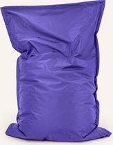 Drop & sit zitzak Nylon - Paars - 100 x 150 cm - binnen en buiten