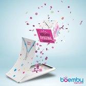 Boemby - Exploderende Confettikubus Wenskaart - Explosion Box - Verjaardagskaart - kaart met Confetti - Happy Birthday - Confetti kaart - Unieke wenskaarten - #3