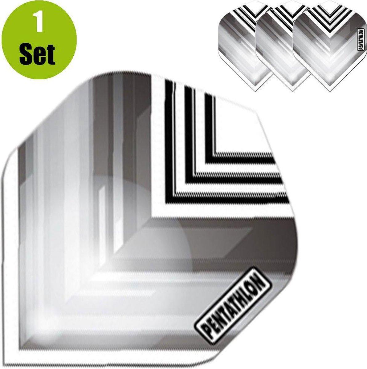 Pentathlon Vizion V Dartflights - Zwart- ()