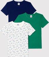 Petit Bateau 3 Pack Jongens Onderhemd