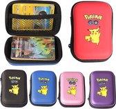 Pokemon kaarten houder - Album hard case capaciteit 50 stuks - Kaarten box Roze