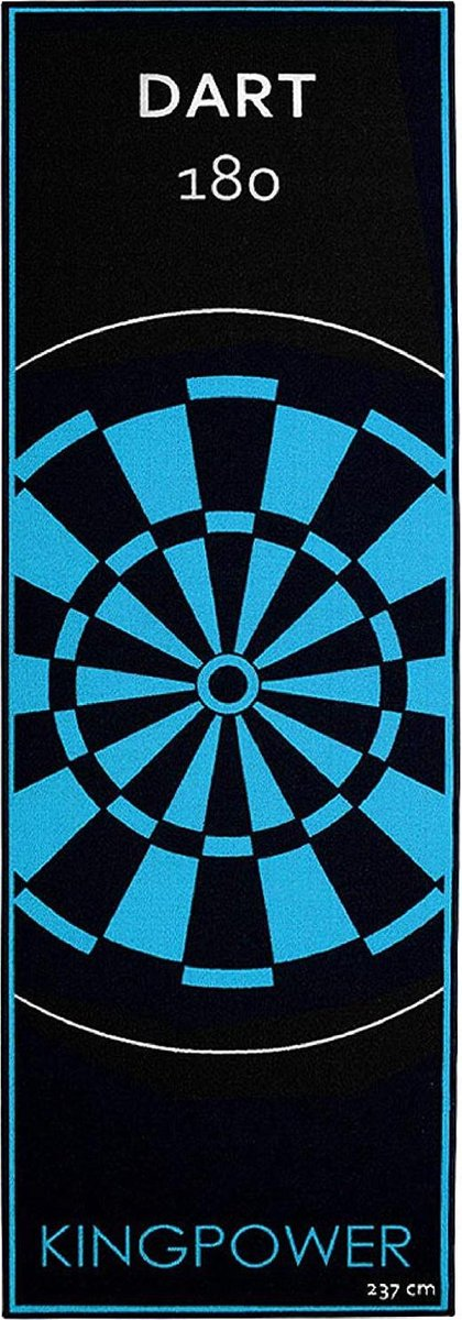 dartmat -Kingpower Tournament Darts Mat 237 x 80 cm- (WK 02127)