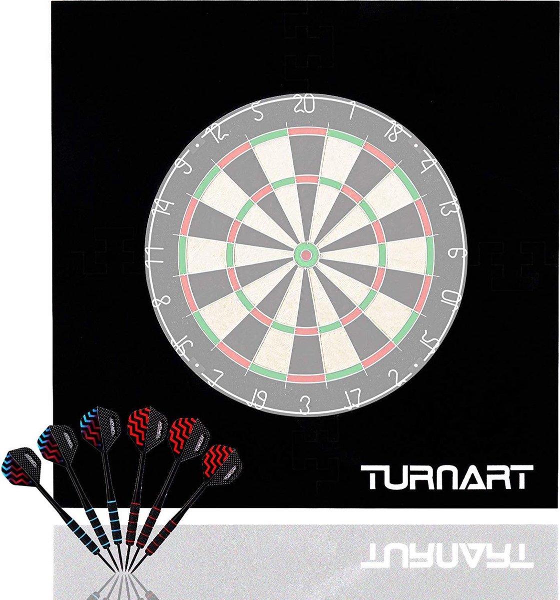 Dartbord Surround Ring - Zinaps Dartboard Dart Catch Ring, Surround Catch Ring, Dart Backboard, Ronde Catch Ring, Eva Ronde Dartboard Surround- (WK 02127)