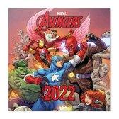 Avengers kalender 2022-Marvel-comics-Hulk-Captain America-formaat 30x30cm