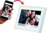 Denver - Digitale Fotolijst - 7 inch - met Frameo software en Wi-Fi - Wit