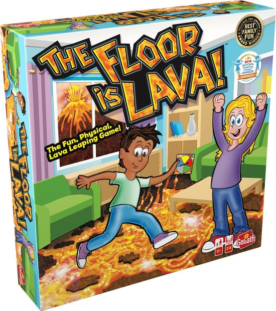 De Vloer Is Lava - Kinderspel
